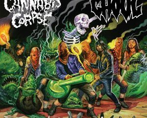 cannabiscorpse ghoul split