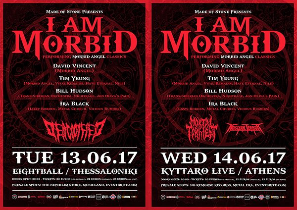 I AM MORBID LIVE
