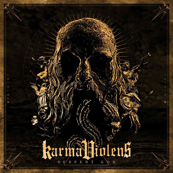 karma violens - serpent god cov