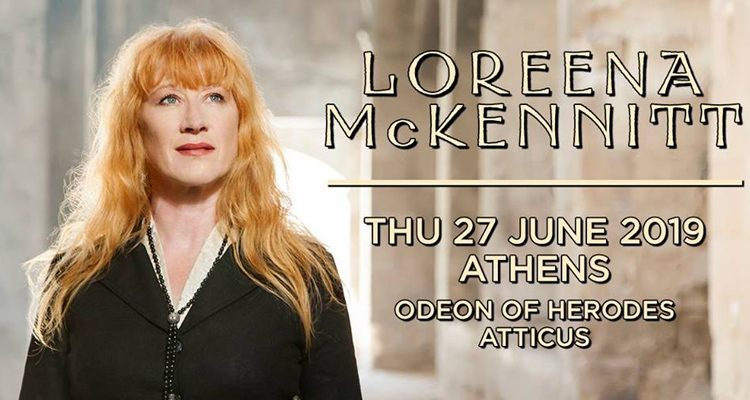 e8c55f9d00e H Loreena McKennitt live στην Αθήνα Πέμπτη 27 Ιουνίου 2019